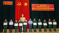 An Giang Đảm bảo chất lượng, hiệu quả lực lượng dân quân tự vệ, dự bị động viên