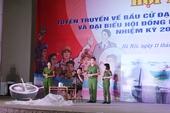 Thi sáng tác Kịch tuyên truyền bầu cử đại biểu Quốc hội khóa XV và bầu cử HĐND các cấp