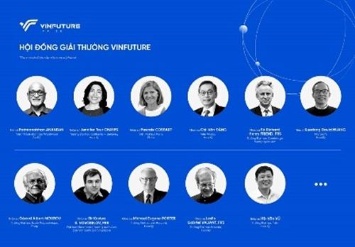 Giải thưởng khoa học công nghệ quốc tế trị giá 4,5 triệu USD do Việt Nam khởi xướng