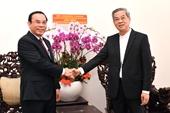 Bí thư Thành ủy TP Hồ Chí Minh chúc mừng Tòa Tổng Giám mục giáo phận Thành phố