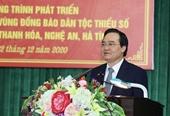 4 giải pháp nâng cao chất lượng nhân lực vùng dân tộc và miền núi Thanh Hóa, Nghệ An, Hà Tĩnh
