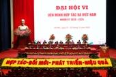 Khai mạc trọng thể Đại hội đại biểu toàn quốc Liên minh HTX Việt Nam lần thứ VI