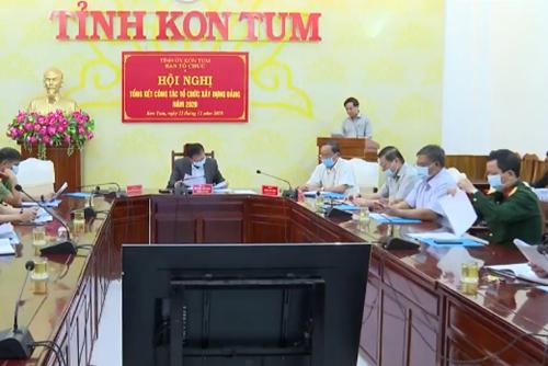 Kon Tum tổng kết công tác tổ chức xây dựng Đảng