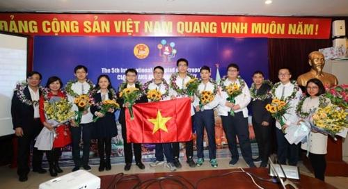 Học sinh Hà Nội giành 5 Huy chương Vàng Olympic Quốc tế IOM lần thứ V