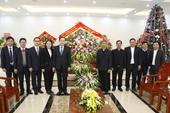 Chủ tịch Ủy ban Trung ương MTTQ Việt Nam chúc mừng giáng sinh tại giáo phận Phát Diệm