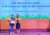 17 tác phẩm đoạt giải Cuộc thi sáng tác ca khúc về đề tài dân tộc, miền núi