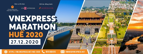 Hơn 6 000 vận động viên tranh tài VnExpress Marathon Huế 2020