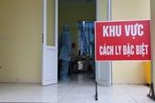 Chiều 27 12, thêm 1 ca mắc COVID-19, Việt Nam có 1 441 bệnh nhân
