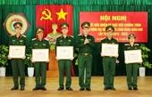 Quân khu 5 Hoạt động công đoàn đạt nhiều kết quả quan trọng