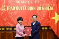 Bộ Ngoại giao bổ nhiệm 2 lãnh đạo cấp vụ