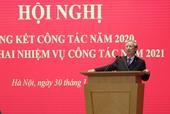 Văn phòng Trung ương Đảng tập trung thực hiện tốt các nhiệm vụ phục vụ Đại hội XIII