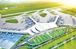 Khởi công xây dựng Cảng hàng không quốc tế Long Thành giai đoạn 1