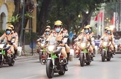Ra quân năm an toàn giao thông