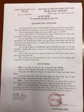 Tạm đình chỉ Phó giám đốc Trung tâm Y tế huyện Chương Mỹ Hà Nội