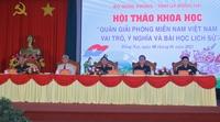"""Quân giải phóng miền Nam Việt Nam - Vai trò, ý nghĩa và bài học lịch sử"""""""