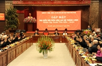 Hội viên Câu lạc bộ Thăng Long đóng góp xây dựng Thủ đô ngày càng giàu đẹp