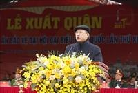 Diễn tập phương án bảo vệ Đại hội lần thứ XIII của Đảng