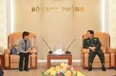 Tiếp tục thúc đẩy hợp tác quốc phòng Việt Nam-Singapore