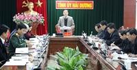 Đoàn đại biểu tỉnh Hải Dương nêu cao tinh thần trách nhiệm, góp phần vào thành công Đại hội XIII của Đảng