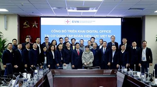 Chính thức áp dụng hệ thống Digital - Office tại Cơ quan EVN
