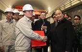 Thủ tướng Nguyễn Xuân Phúc thăm Nhà máy Thủy điện Hòa Bình