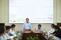 Bộ trưởng Bộ GD ĐT làm việc với tỉnh Trà Vinh về triển khai chương trình GDPT mới