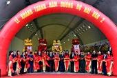 Phó Thủ tướng Trịnh Đình Dũng dự lễ khánh thành hầm Hải Vân 2