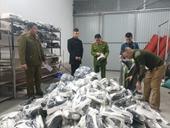 Hải Dương Thu giữ trên 1 800 sản phẩm nhái thương hiệu nổi tiếng