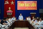 Bộ trưởng Bộ GD ĐT kiểm tra triển khai chương trình GDPT mới tại tỉnh Bạc Liêu