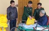 Cục Hậu cần, Quân khu 4 Thăm hỏi, tặng quà thương binh và gia đình chính sách