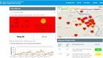Chất lượng không khí ở ngưỡng xấu tại Hà Nội và các tỉnh phía Bắc