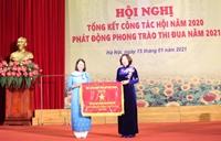 Phụ nữ Thủ đô thi đua tổ chức thành công đại hội phụ nữ các cấp
