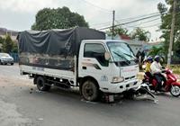 Tài xế xe tải ngủ gật gây tai nạn làm 6 người bị thương