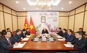 Tổng Bí thư, Chủ tịch nước Nguyễn Phú Trọng điện đàm với Tổng Bí thư Lào Thongloun Sisoulith