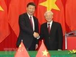 Điện mừng 71 năm Ngày thiết lập quan hệ ngoại giao Việt Nam - Trung Quốc
