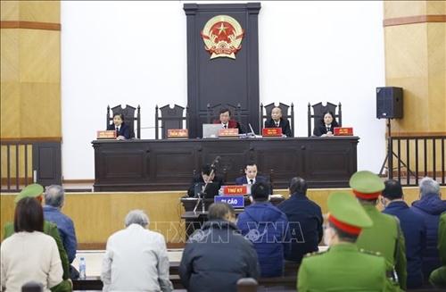 Lần thứ 2 hoãn phiên tòa xét xử bị cáo Vũ Huy Hoàng và đồng phạm