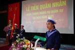 Lữ đoàn 147 Hải quân 418 quân nhân hoàn thành nghĩa vụ quân sự