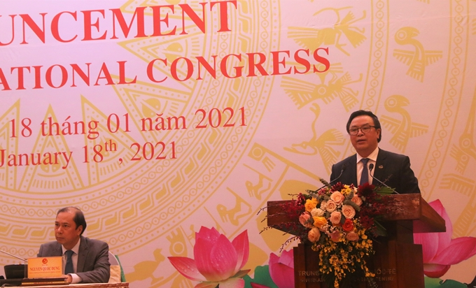 Thông báo về Đại hội XIII của Đảng tới Đoàn Ngoại giao và các tổ chức quốc tế
