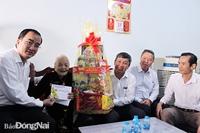 Đồng Nai Lãnh đạo tỉnh thăm, chúc tết gia đình cách mạng
