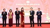 Ủy ban MTTQ Việt Nam TP Hà Nội đón nhận Huân chương Lao động hạng Ba