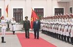 Lực lượng tình báo công an nhân dân đón nhận Huân chương Bảo vệ Tổ quốc hạng Nhất
