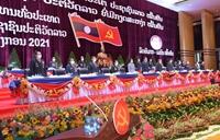 Chủ tịch UBTƯMTTQ Việt Nam chúc mừng thành công của Đại hội Đảng NDCM Lào