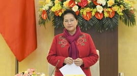 Chủ tịch Quốc hội chủ trì Phiên họp thứ 2 của Hội đồng bầu cử quốc gia