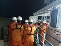 Cứu nạn kịp thời thuyền viên bị tai nạn lao động trên biển