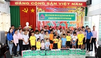 Ngân hàng chính sách xã hội Kiên Giang thăm, chúc tết Tân Sửu Trung tâm bảo trợ xã hội tỉnh
