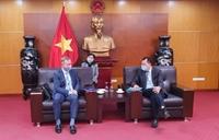 Thứ trưởng Bộ Công Thương Đặng Hoàng An tiếp Đại sứ Vương quốc Anh tại Việt Nam