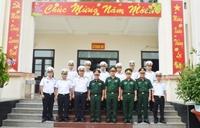 Thượng tướng Nguyễn Phương Nam thăm, chúc Tết các đơn vị trên địa bàn Quân khu 9