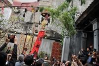 Linh thiêng cây nêu ngày Tết Việt