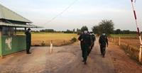"""Bộ đội Biên phòng Long An thực hiện tốt """"nhiệm vụ kép"""" quản lý bảo vệ biên giới và phòng, chống dịch COVID-19"""