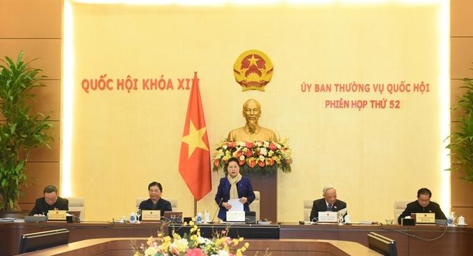 UBTVQH sẽ xem xét báo cáo tổng kết nhiệm kỳ của Chính phủ, Quốc hội